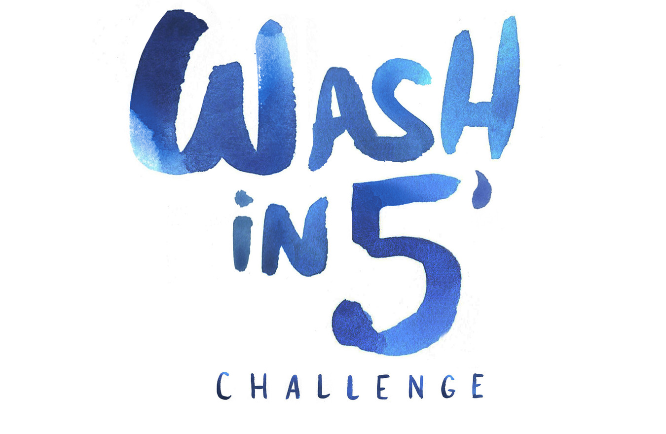 wash in 5' !